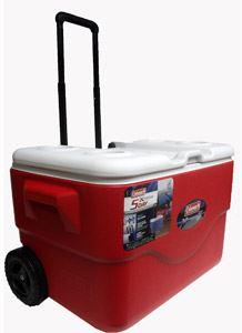 coleman xtreme 50 quart wheeled cooler