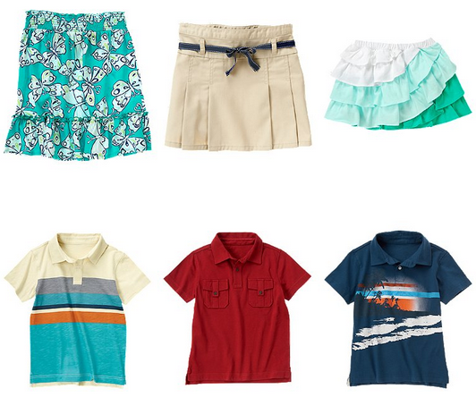 crazy 8 499 skirts and polos