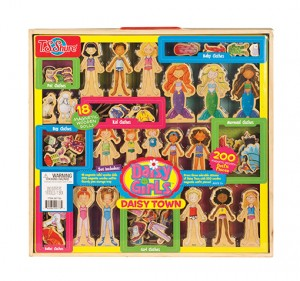 daisy girls 200 piece magnetic dress up kit