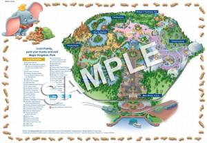 disney custom map