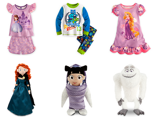 disney sleepwear sale