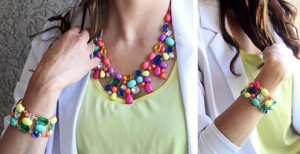 j crew inspired necklace and bracelet