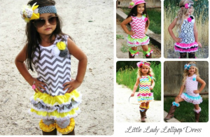 little lady lollipop dress