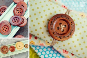 personalized buttons pick your plum deal
