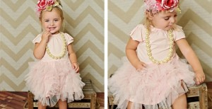 pink ballerina party dress