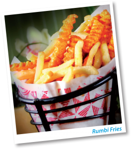rumbi fries 264x300 Rumbi Island Grill: FREE Medium Rumbi Fries or Chips & Tropical Salsa (with Meal Purchase)!