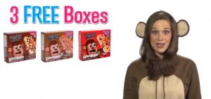 3 free boxes of monkey bars