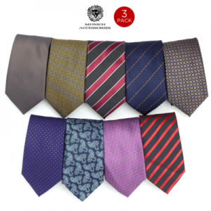 3 pack mens ties