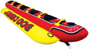 Airhead Jumbo Dog Ski Tube 300x166 Airhead Jumbo Dog Ski Tube $137.95 (Reg $350) *Calling All Boat Owners*