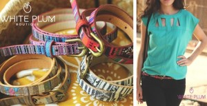 Anthropologie Inspired Skinny Aztec Belts