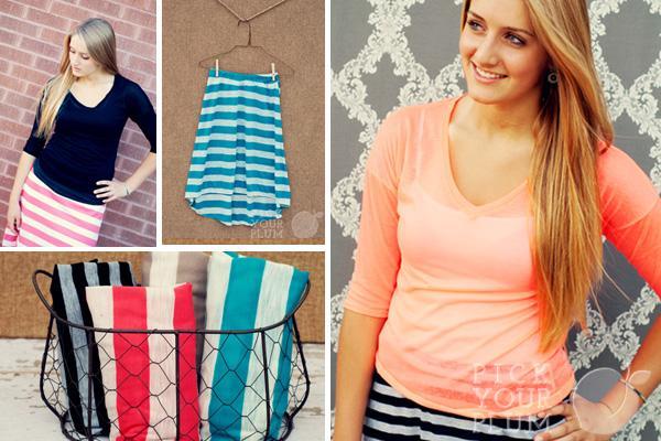 Basic Shirs and Skirts