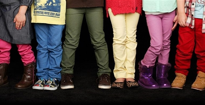 Kids Colored Skinny Jeans