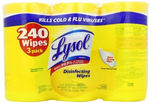 Lysol wipes 300x204 Lysol Disinfecting Wipes BIG Value Pack, 3 Containers for $5.99   $7.48