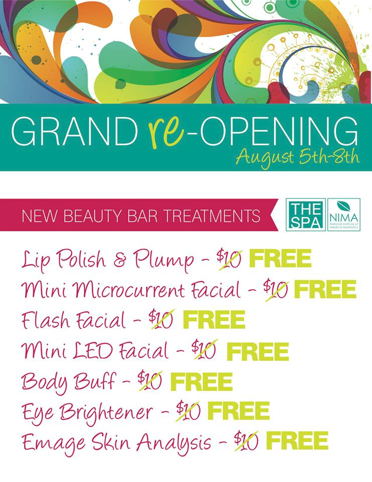 NIMA Grand re-Opening