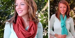 autumn infinity scarf