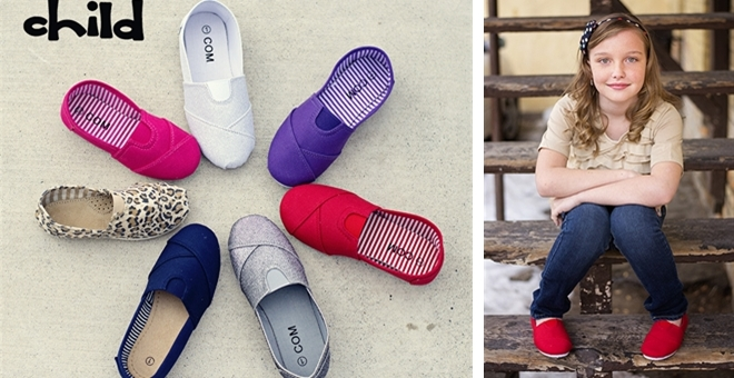 canvas shoes for girls