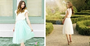 dreamy tulle skirts