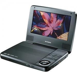 dynex portable dvd player