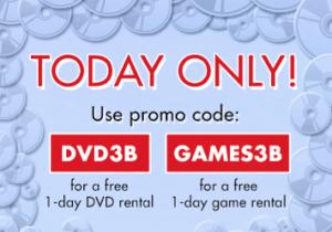 free redbox game or dvd