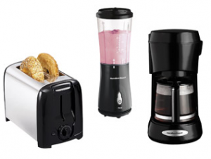 hamilton beach toaster coffee maker blender deal