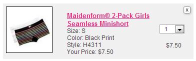 maidenform panty raid summary