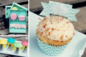 party boxes pastry bags and tips