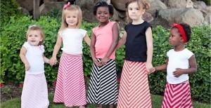 toddler maxi skirts