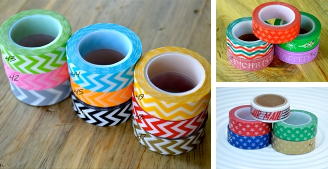 washi tape stock up sale