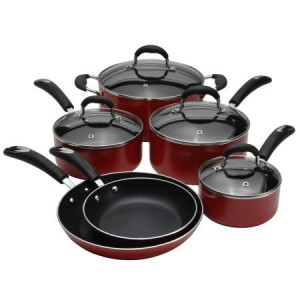 10 piece oneida cookware set