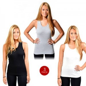 3 pack lady tanks