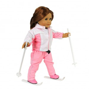 doll clothes for american girl dolls 6 piece ready to ski ski