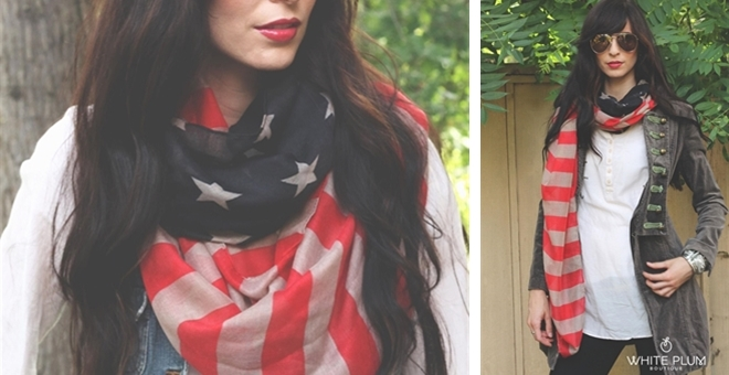Anthro Inspired Freedom Scarves
