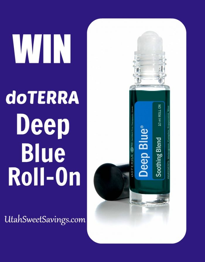 Doterra Deep Blue Roll On Giveaway Giveaway:  Win doTERRA Deep Blue Essential Oil ($70.40 Value)