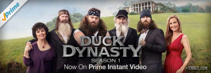 Duck Dynasty Season 1 Duck Dynasty Season 1 is Now on Prime Instant