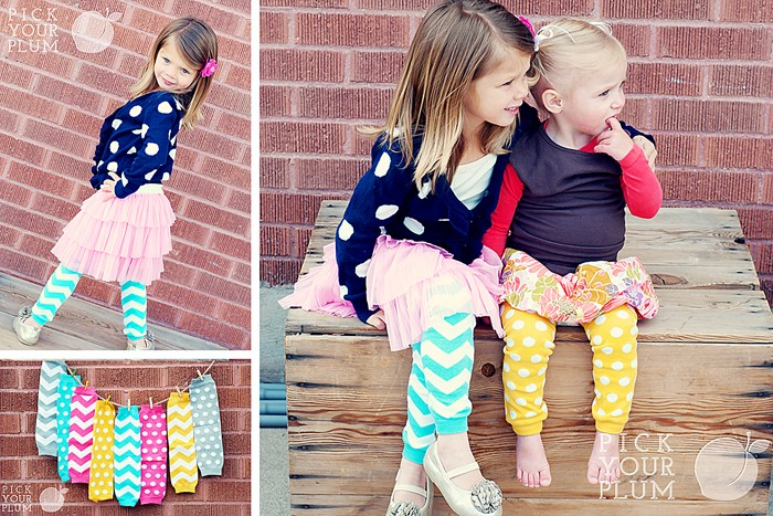 Kids leg warmers