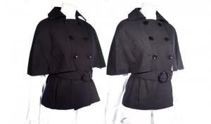 Krush Wool Blend Cape Coat