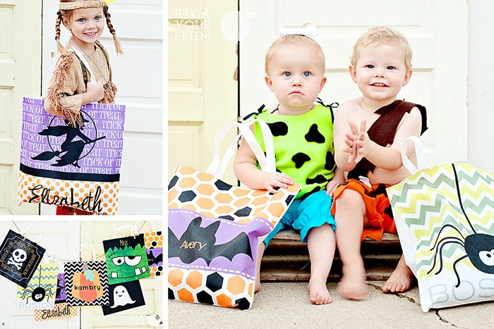 Personalize Halloween Bags