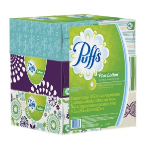 Puffs Plus Lotion Facial Tissues Family Boxes