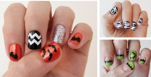 fun and spooky nail decals