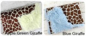 giraffe minky