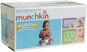 munchkin super premium diapers 300x178 Amazon Munchkin Diapers for 11¢ 20¢/diaper!!