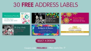 30 free address labels