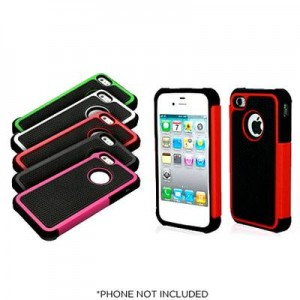Armor Hybrid Shockproof Cases for iPhone 4, 4S and iPhone 5