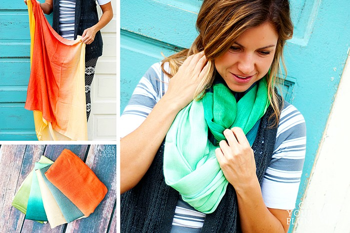 FAll Infinity Ombre Scarves