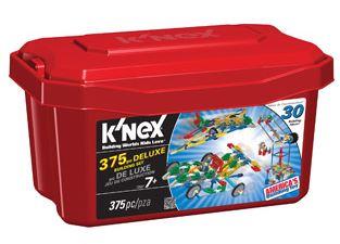 K'NEX 375 Piece Deluxe Value Tub
