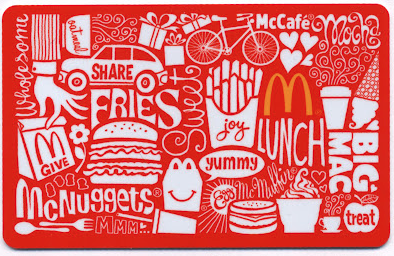 McDonald's Card