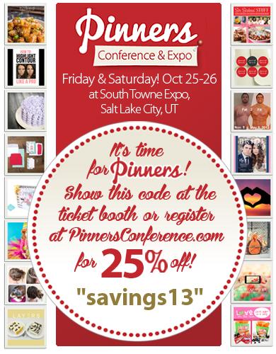 Pinners Expo Utah Discount Code
