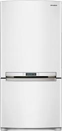 Samsung - 17.9 Cu. Ft. Bottom-Mount Refrigerator - White