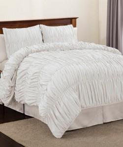 White Venetian Comforter Set
