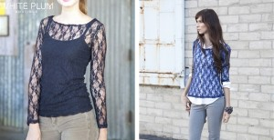 basic lace blouse